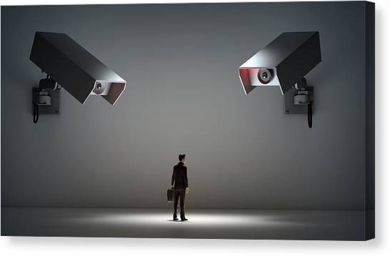 Big Brother Canvas Print - Big Brother by Andrzej Wojcicki
