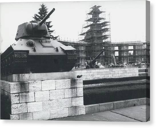 Big Building Site Berlin Canvas Print by Retro Images Archive