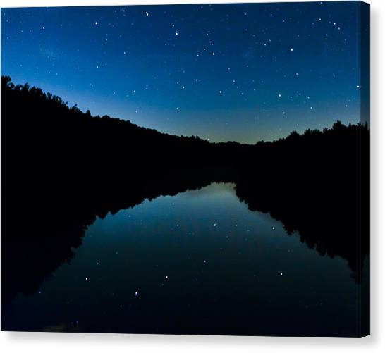 Big Dipper Reflection Canvas Print