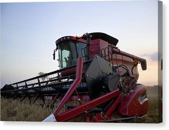 Big Harvest Canvas Print