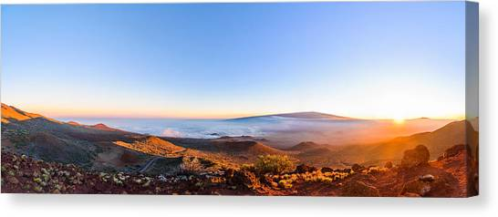 Big Island Sunset 2 Canvas Print