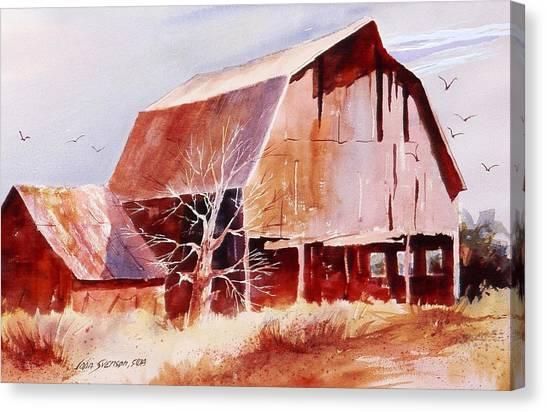 Big Jim's Barn Canvas Print