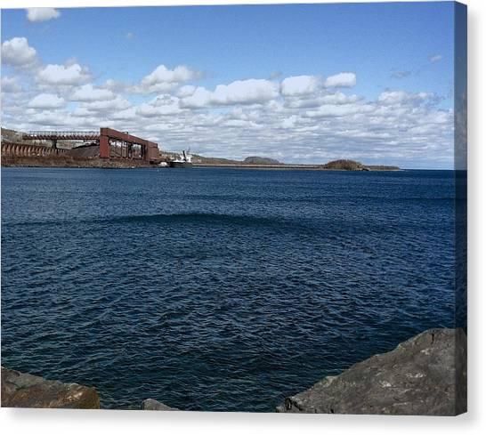 Big Lake Big Sky Canvas Print