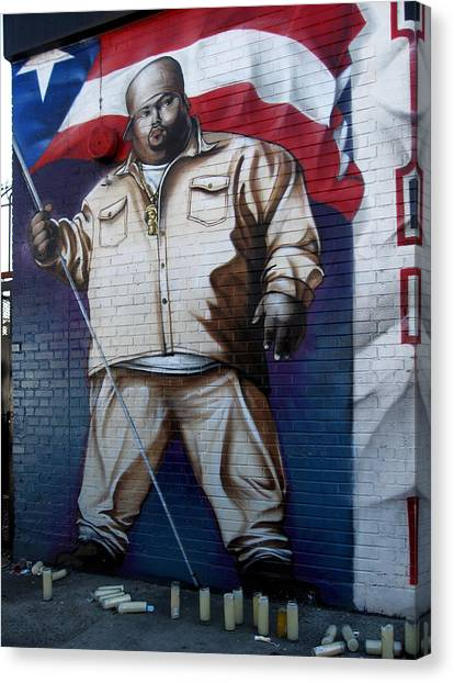 Big Pun Canvas Print
