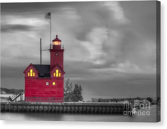 Big Red Canvas Print - Big Red by Twenty Two North Photography