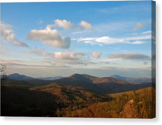 Big Sky In Cashiers Canvas Print