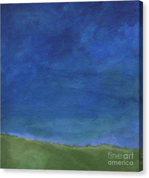 Sky Canvas Print - Big Sky by Linda Woods