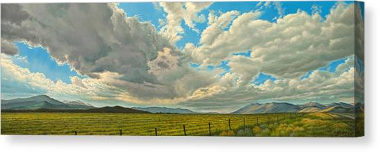 Montana Canvas Print - Big Sky by Paul Krapf