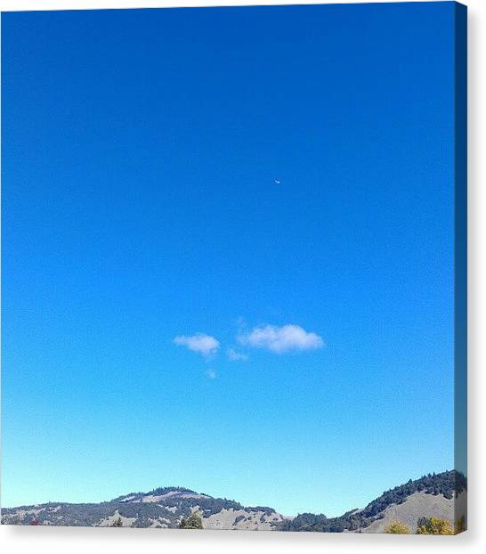 Weather Canvas Print - Big Sky Valley by CML Brown