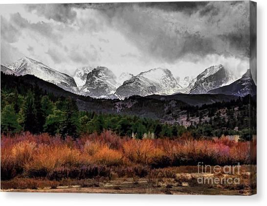 Big Storm Canvas Print