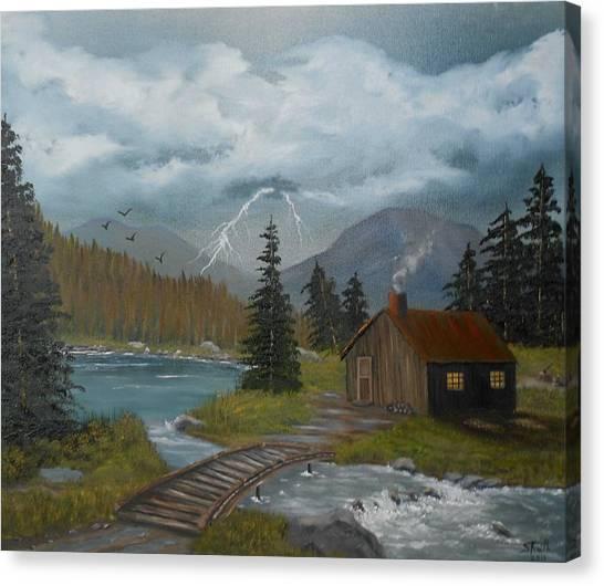 Big Storms A Comin' Canvas Print