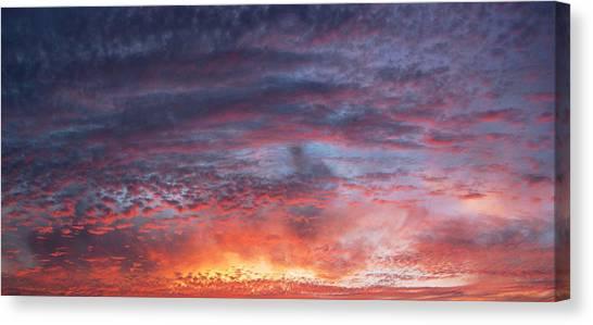 Big Sunset  Canvas Print