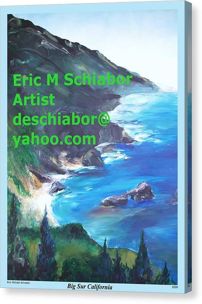 Big Sur Califorina Canvas Print