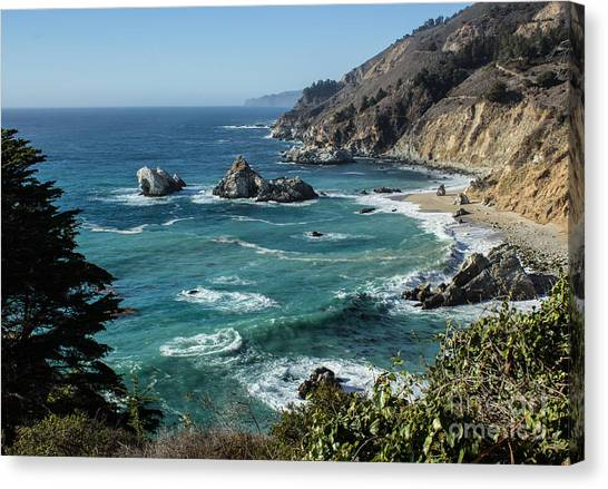 Big Sur Coast From Julia Pfeiffer Burns Canvas Print