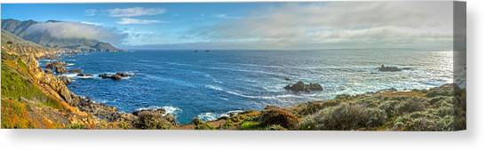 Big Sur Coast Pano 2 Canvas Print