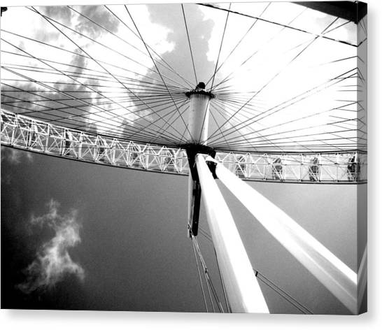 South African Canvas Print - Big Wheel At Va Waterfront by Christian Smit