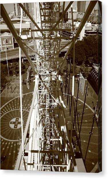 Darling Harbour Big Wheel.  Canvas Print