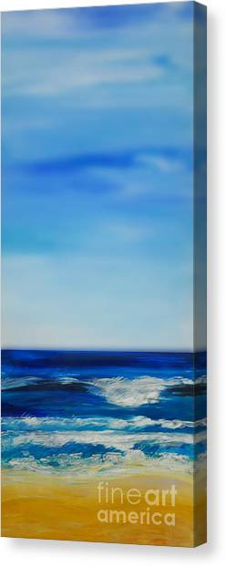 bigSky Beach Canvas Print