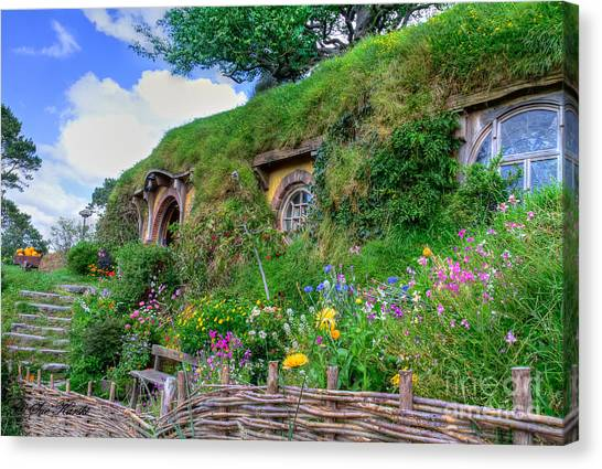 Bilbo Baggins House 1 Canvas Print