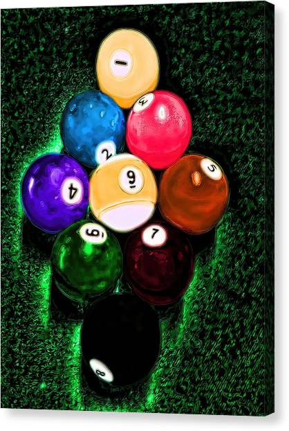 Billiards Art - Your Break Canvas Print
