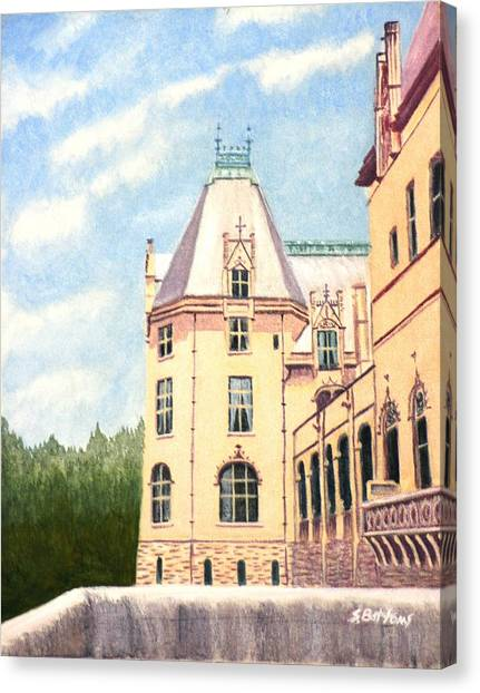 Biltmore Balcony Canvas Print