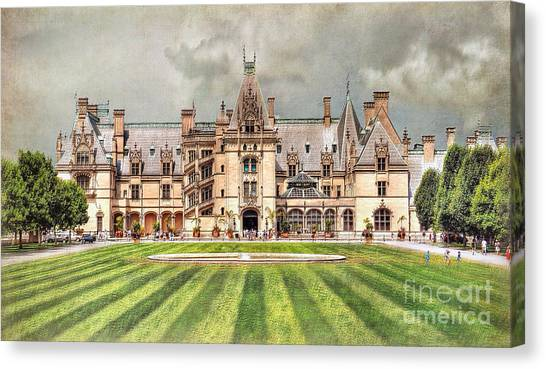 Biltmore House Canvas Print
