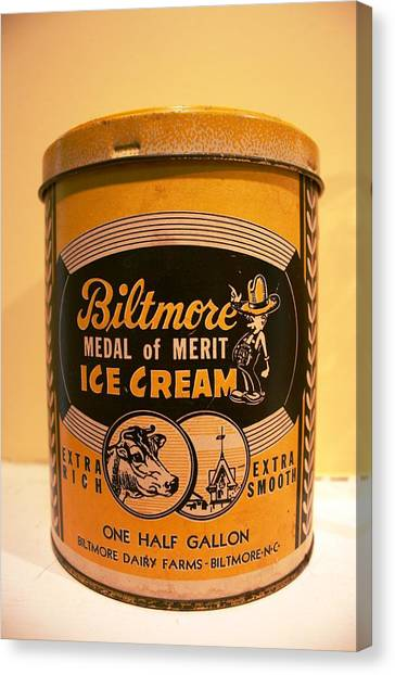Biltmore Ice Cream Canvas Print