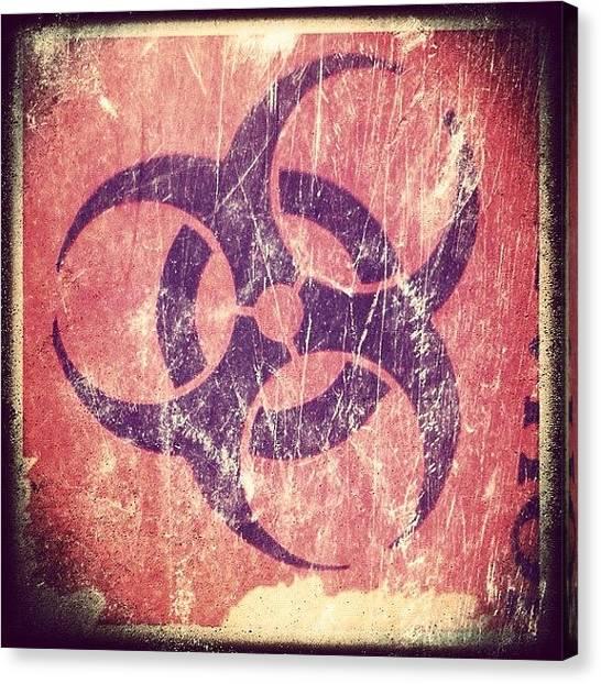 Biohazard Canvas Print - Biohazard by Artondra Hall