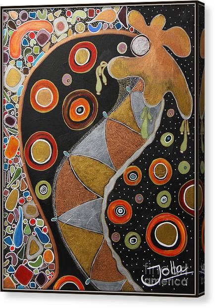 Biological Rhythms.. Canvas Print