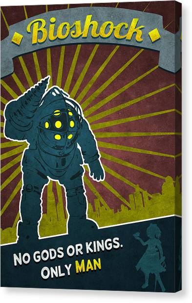 Bioshock Canvas Print - Bioshock by Anton Lundin