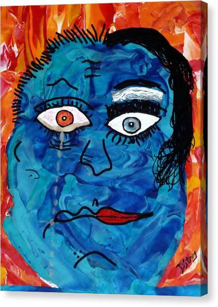 Bipolar Blues Canvas Print