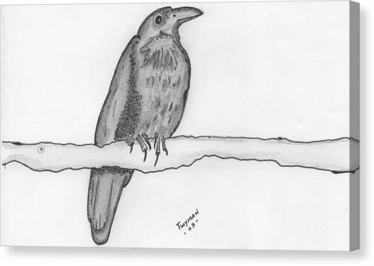 Bird 2 Canvas Print