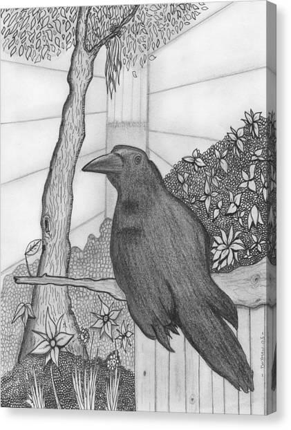 Bird Canvas Print by Dan Twyman