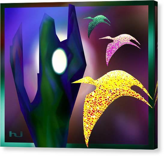 Bird Magic Canvas Print