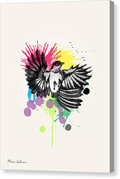 Owls Canvas Print - Bird by Mark Ashkenazi
