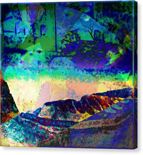 Birds In Windows Canvas Print