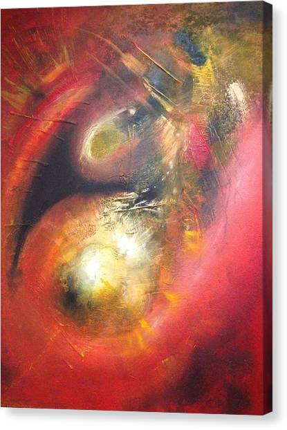 Birth Of A Planet Canvas Print