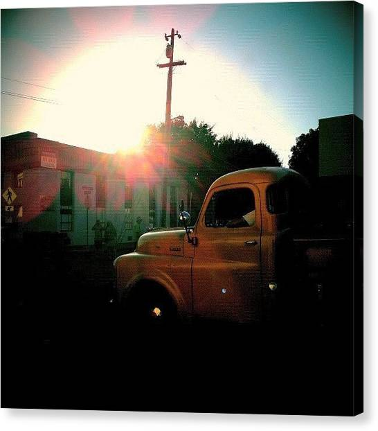 Trucks Canvas Print - Birthday by CML Brown