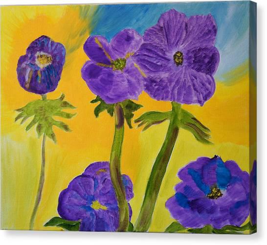 Birthday Memory Canvas Print by Meryl Goudey