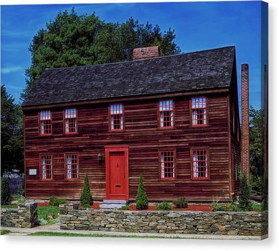 Yale University Canvas Print - Birthplace Of Yale University by Mountain Dreams