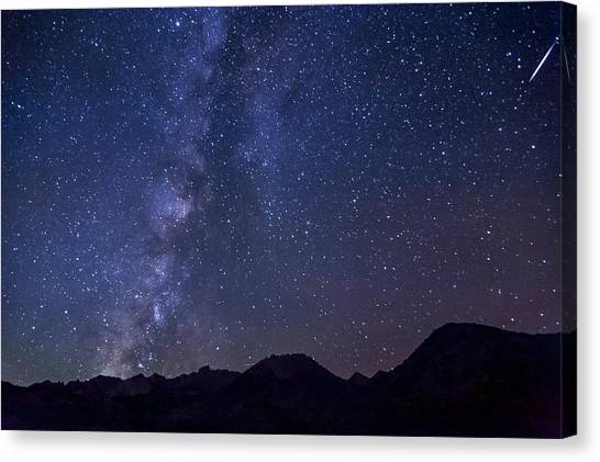 Bishop At Night Canvas Print