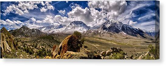 Bishop California Canvas Print