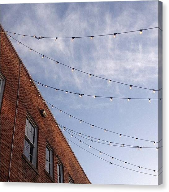 Wedding Canvas Print - #bishopartsdistrict #dallas #visitdallas by Lemoncello Wedding Designs