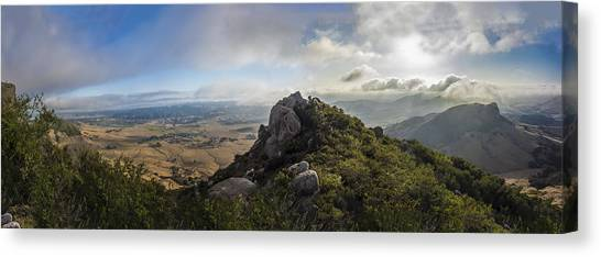 Bishops Canvas Print - Bishop's Peak by Jeremy Jensen
