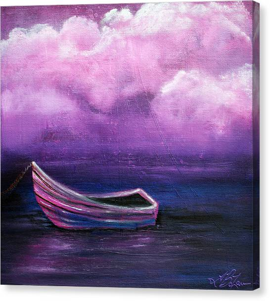 Bitter Berry Sea Canvas Print by Laura Barbosa