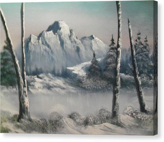 Bitter Cold Canvas Print by Ricky Haug