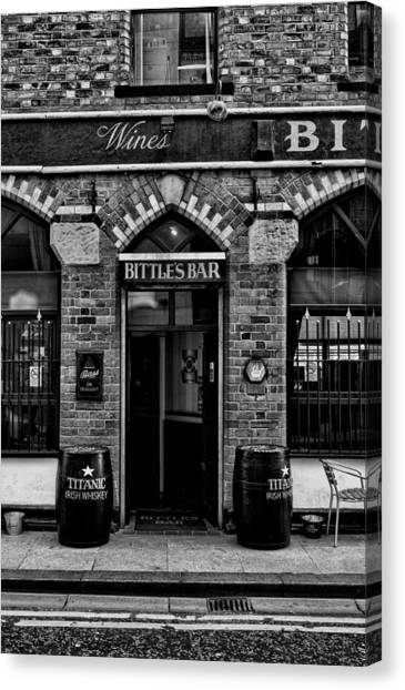 Bittles Bar Canvas Print