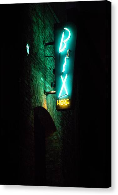 Bix Restaurant San Francisco Canvas Print by SFPhotoStore