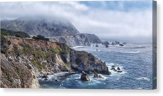 Bixby Bridge - Large Print Canvas Print