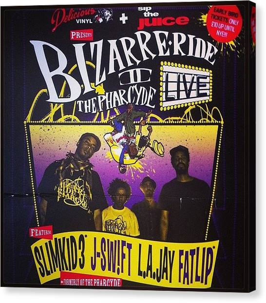 Bizarre Ride Ii The Pharcyde Hiphop Canvas Print Canvas Art By